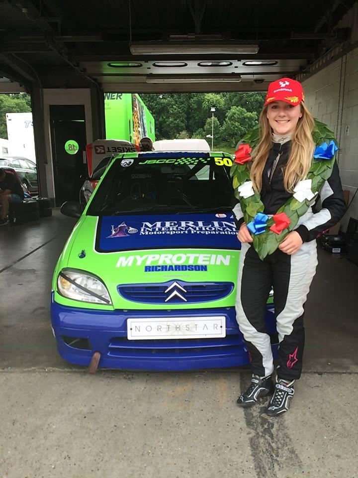 Loughborough College student Katie Milner wins British Women Racing Driver gold award