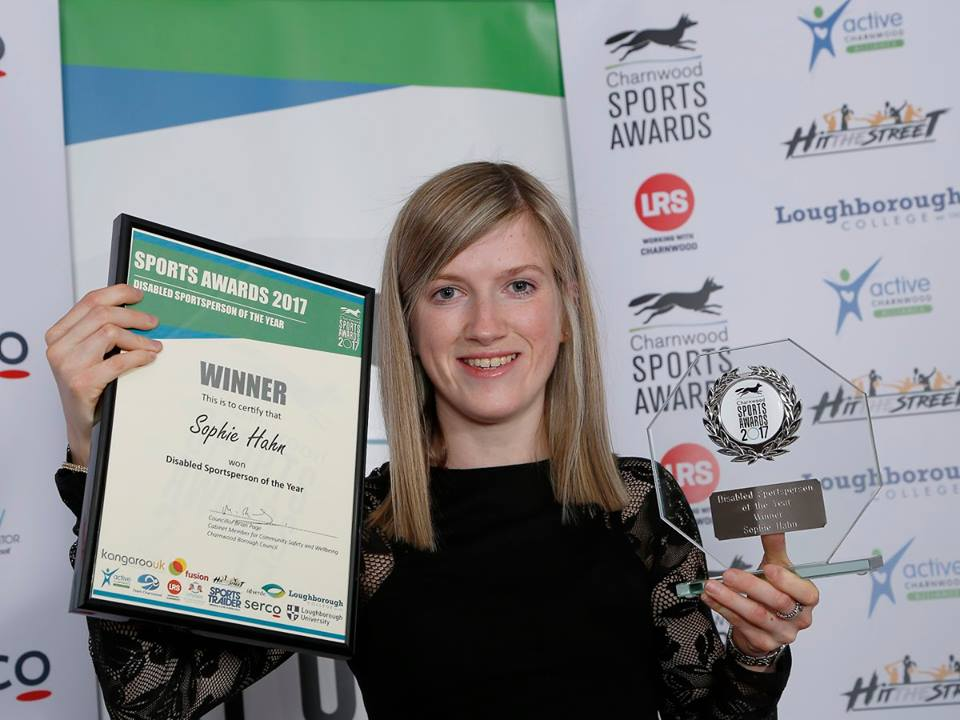 Loughborough College has record number of finalists at 2017 Charnwood Sports Awards