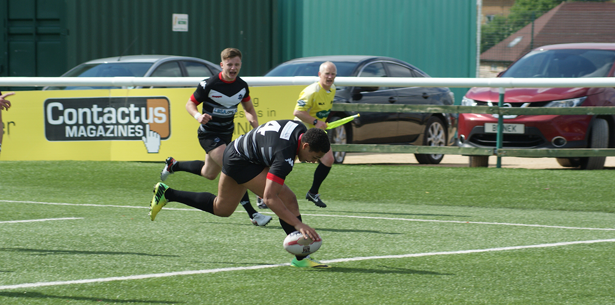 London Broncos seal win with help from Loughborough College rugby players