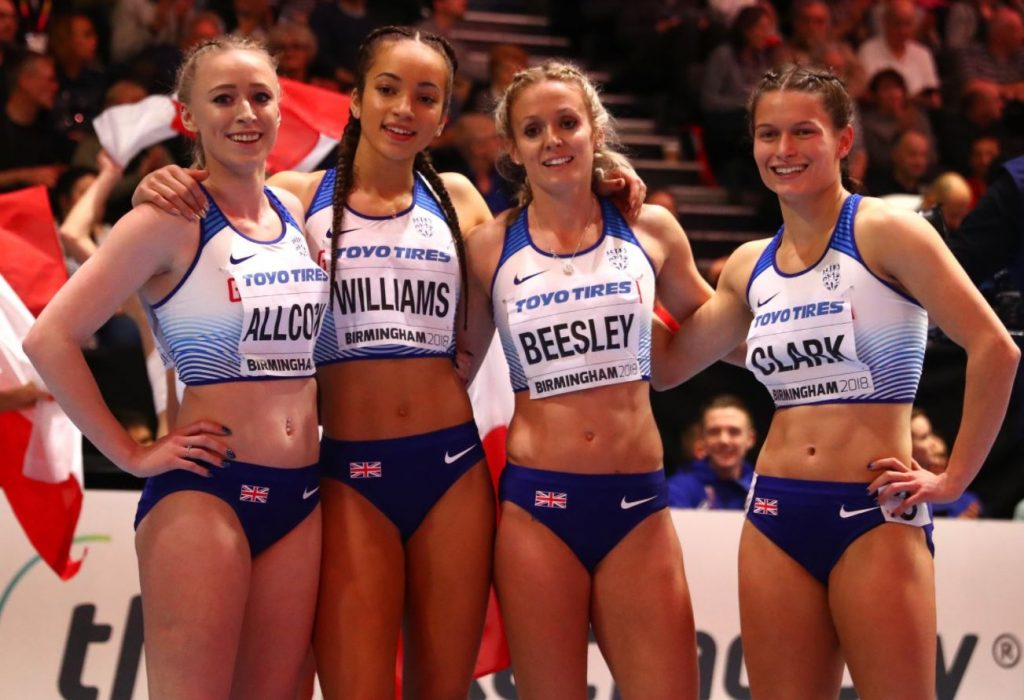 Loughborough College helps Great Britain to World Championship medal win