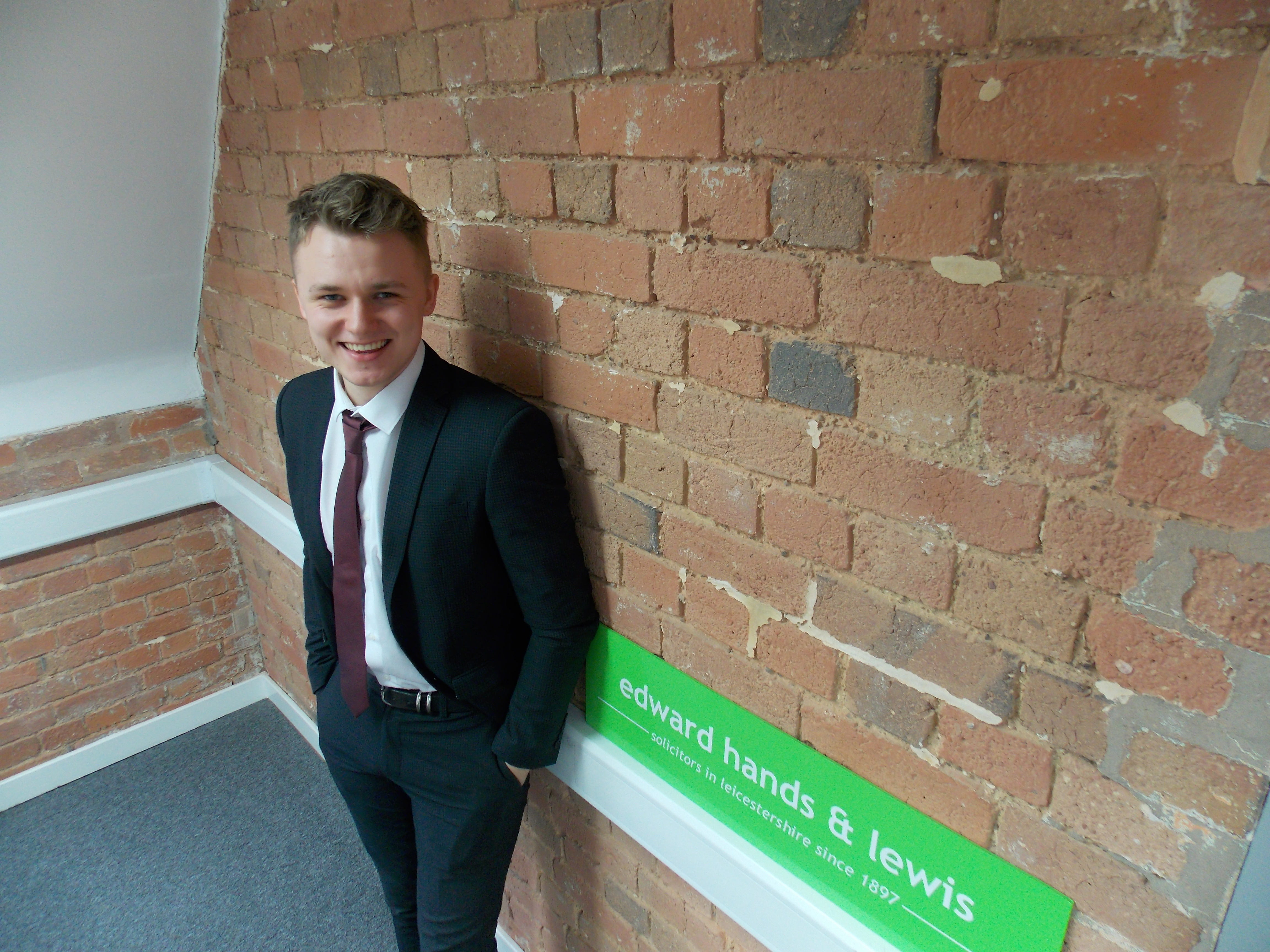 Executive promotion for apprentice from Loughborough College
