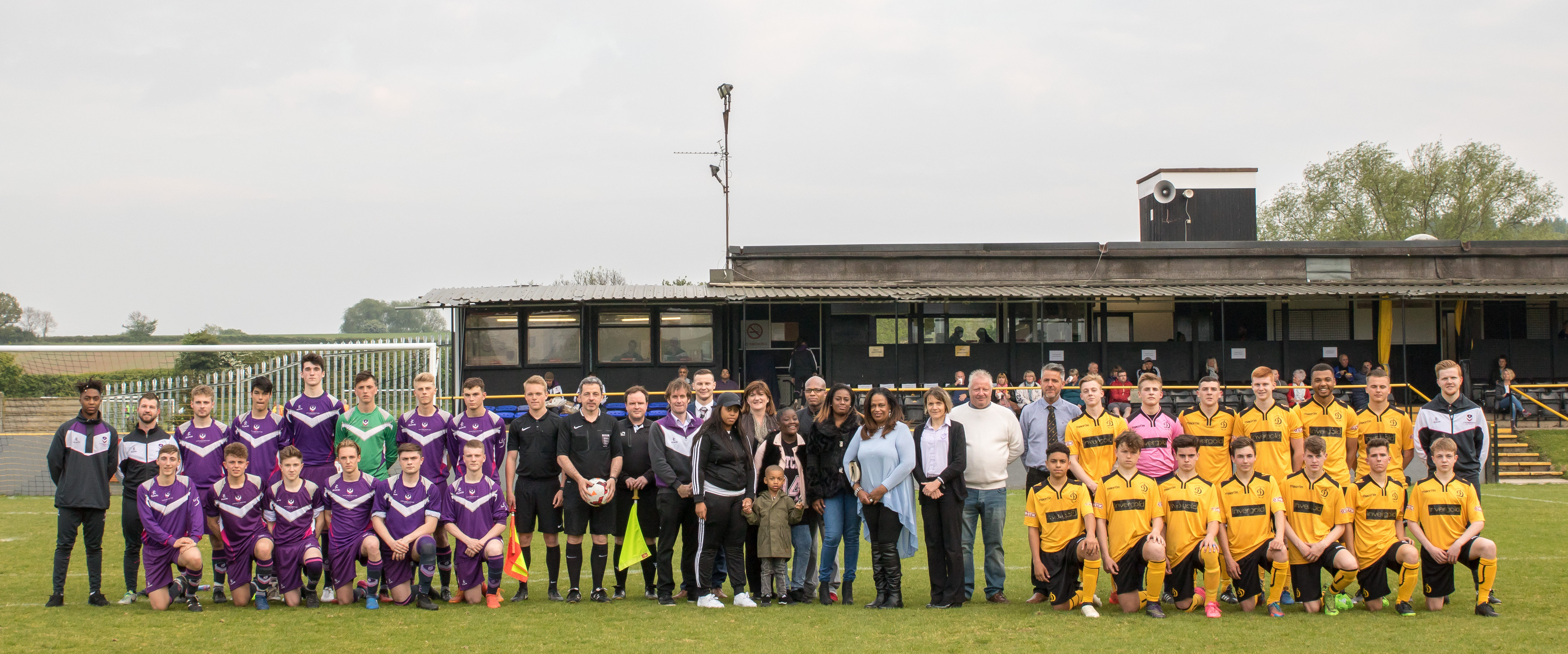 New Loughborough College and Dynamo FC partnership officially launches