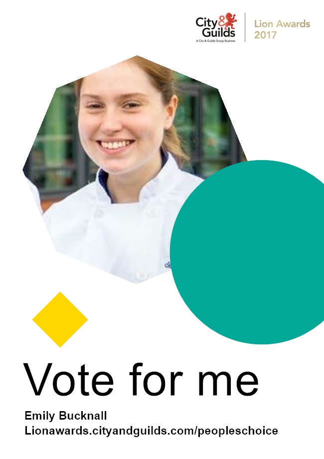 Loughborough College student Emily needs your vote