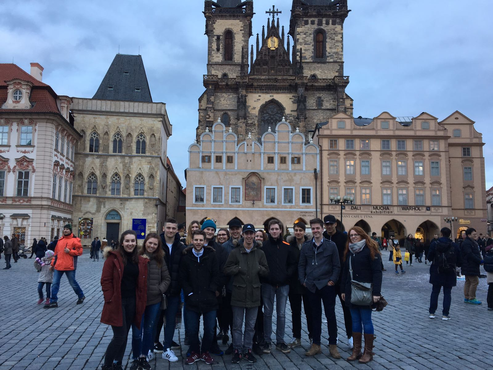 Prague visit offers Loughborough College Business and Economics students valuable insight