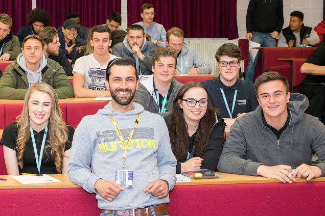 Expert gives Loughborough College students stay healthy tips for exam season and beyond