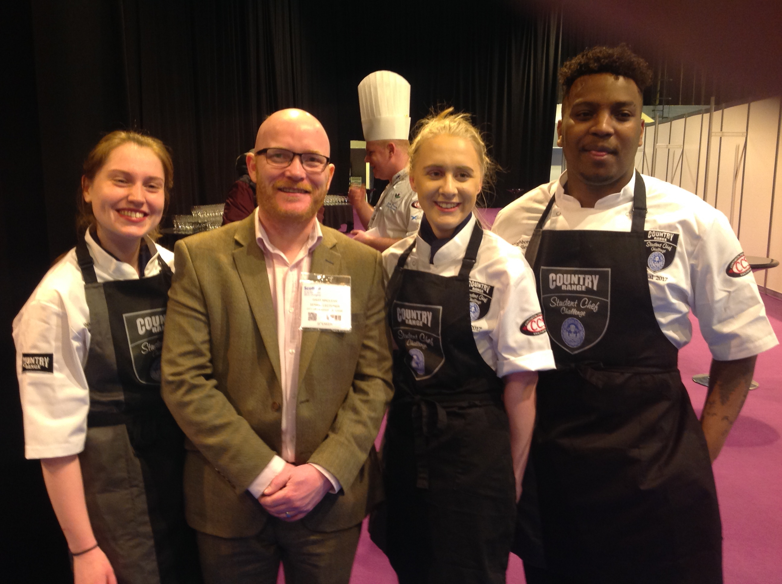 Loughborough College medal winners for second year in a row at prestigious national culinary competition