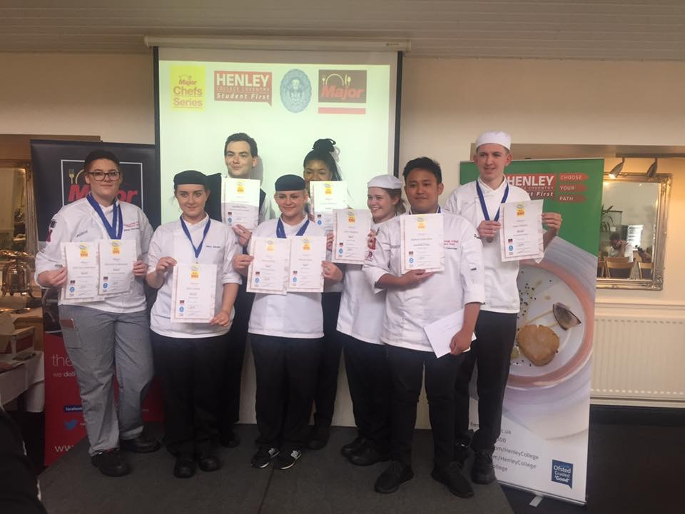 Best in Class double and nine medals for Loughborough College at national hospitality competition final