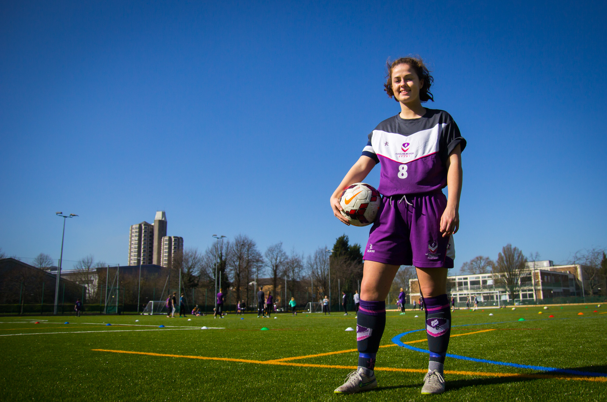 Loughborough College women head for top level football league