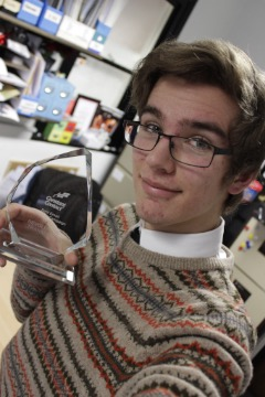 Top national award for apprentice from Loughborough College