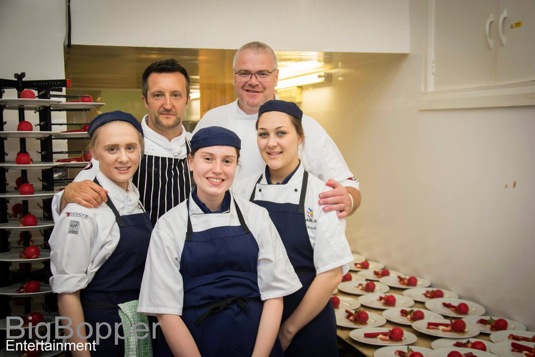 Loughborough College students join celebrated chefs for major charity event