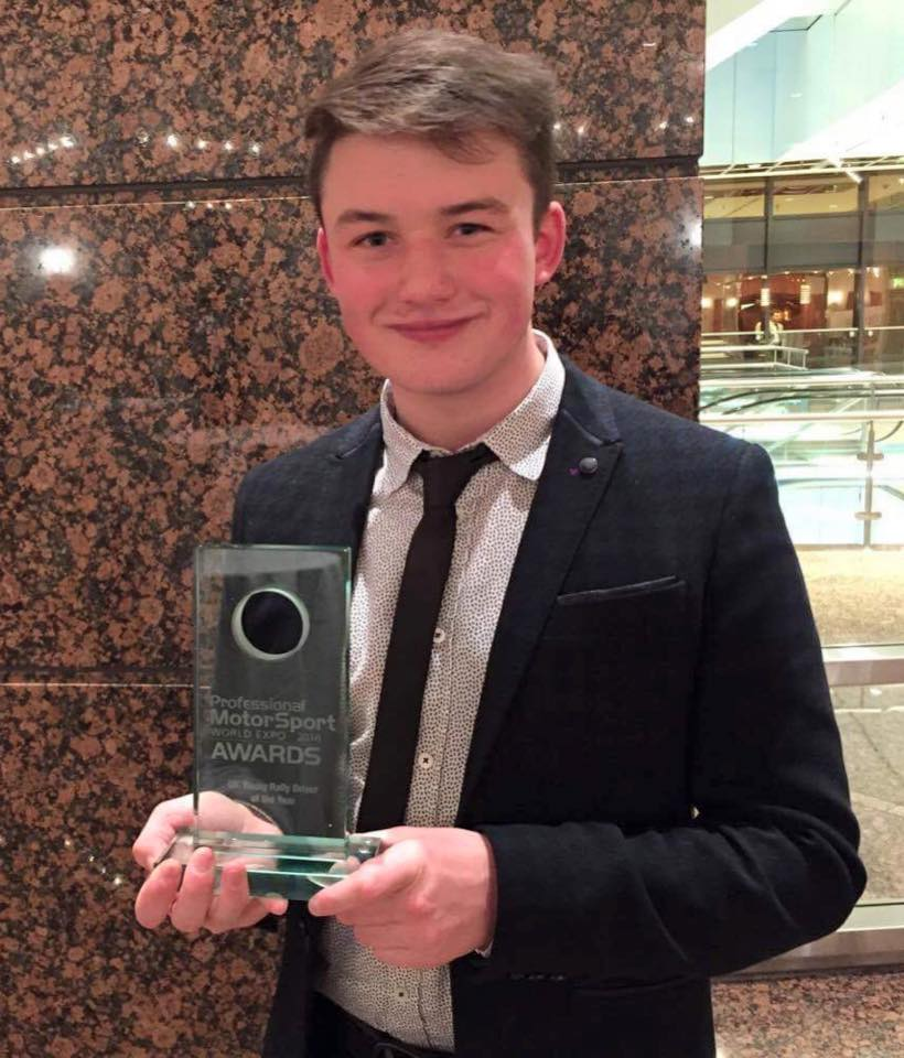 UK Rally Driver of the Year title for Loughborough College driver