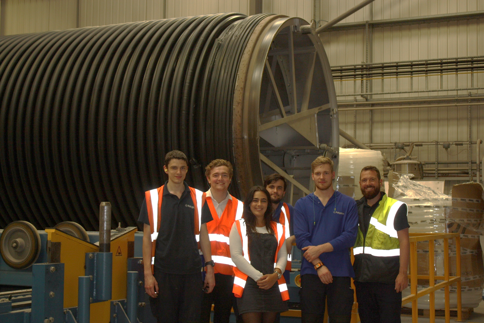 Apprentices from Loughborough College help make £45k project at UK market leader a success
