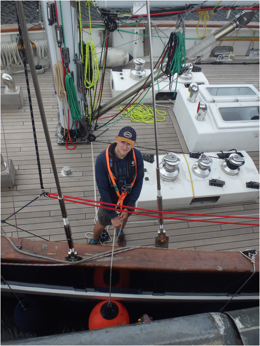 Loughborough College student sets sail for top career