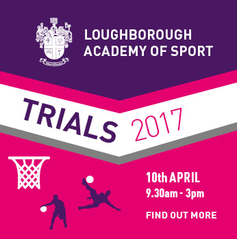 Academy Sport Trials - 10th April - 9:30am to 3pm - click to find out more