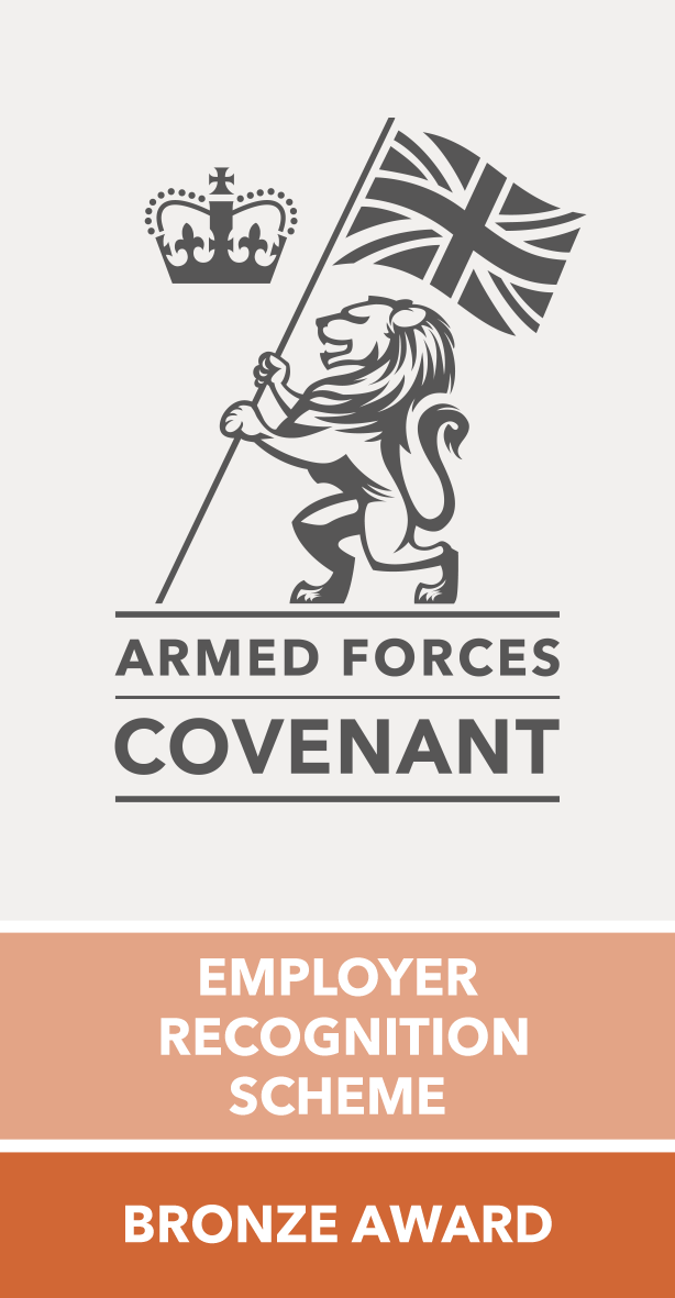 Armed Forces Covenant - Bronze award