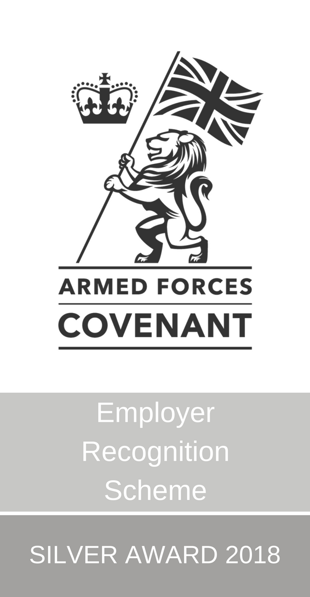 Armed Forces Covenant - Silver award