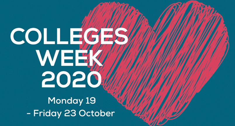 Colleges Week 2020 - Monday 19th - Friday 23rd October 2020