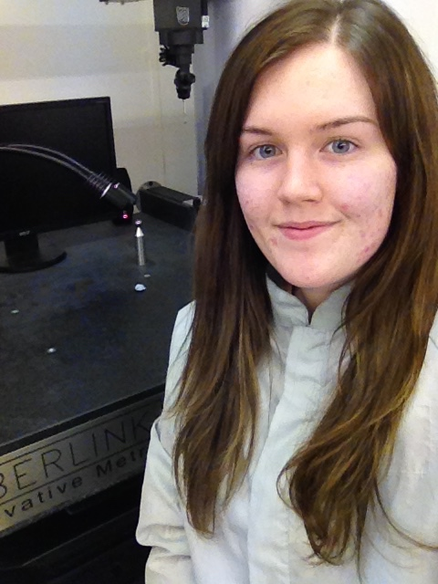 Life on Mars opportunity for Loughborough College Space Higher Apprentice Alexandra