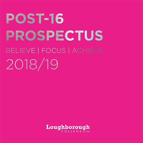 Further Education - Prospectus Cover