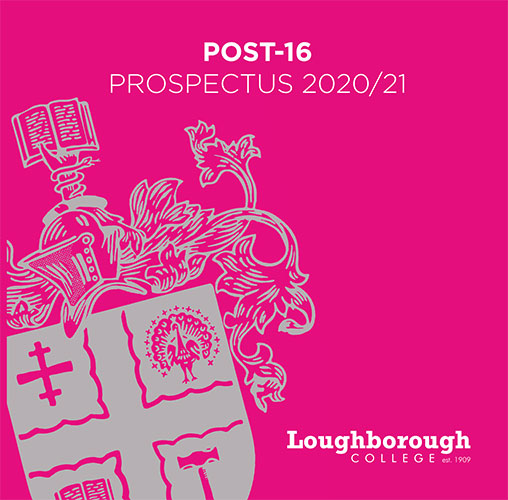 Post 16 - Prospectus Cover