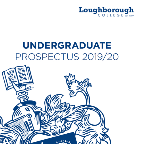Loughborough College - Undergraduate Prosepectus - 2019/20