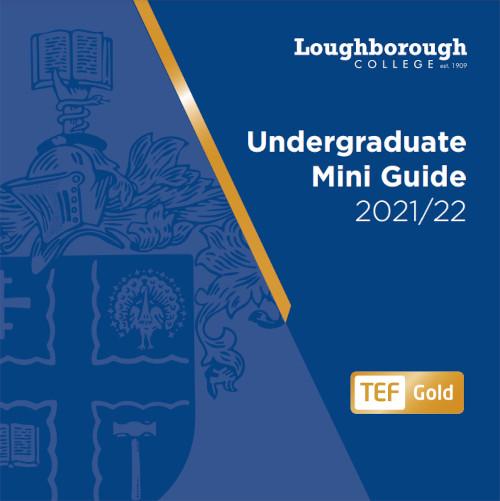 Undergraduate Mini Guide Cover