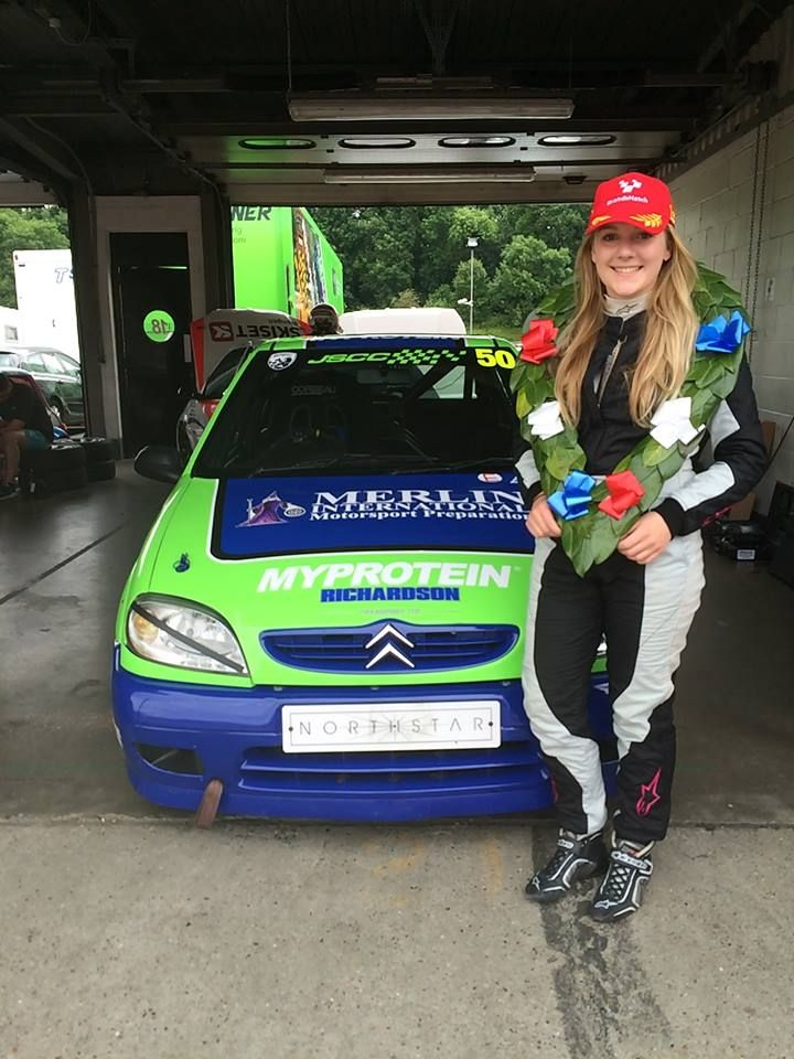 Loughborough College student Katie Milner wins British Women Racing Driver gold award