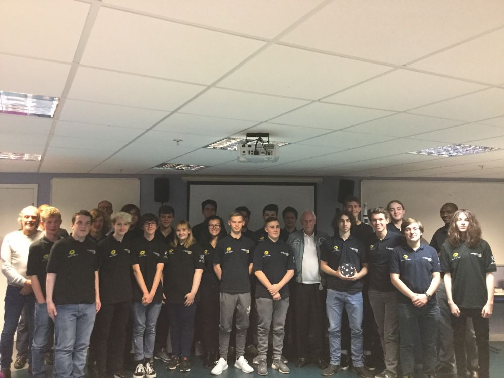 Apollo astronaut helps Loughborough College Space students glimpse dark side of moon