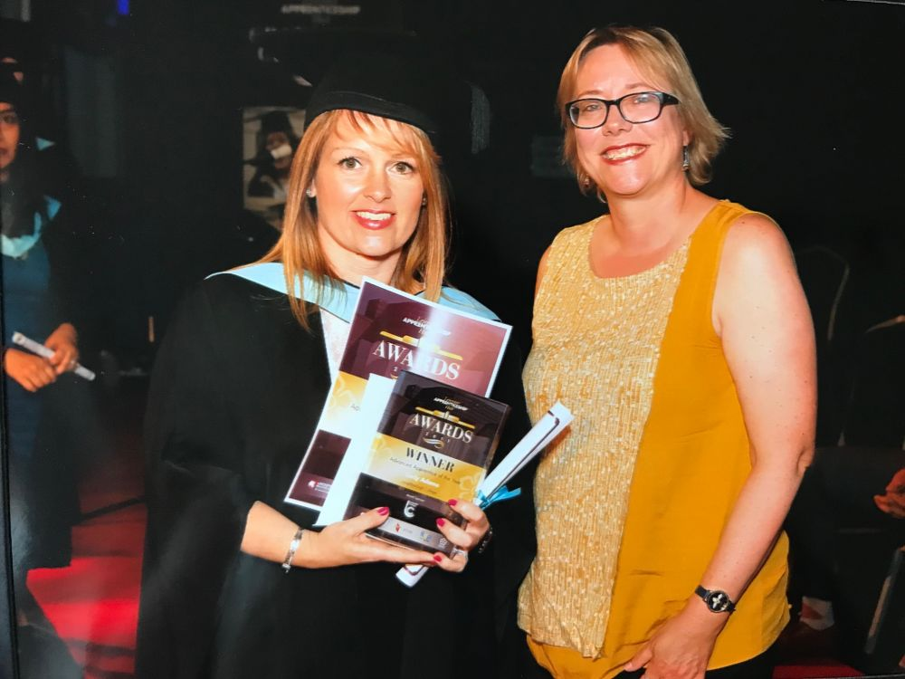 Advanced Apprentice of the Year title for Loughborough College's Carly Adams