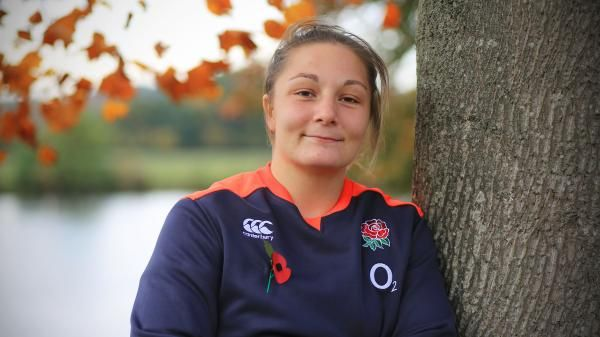 Loughborough College and England Rugby's Amy Cokayne named Young Player of the Year