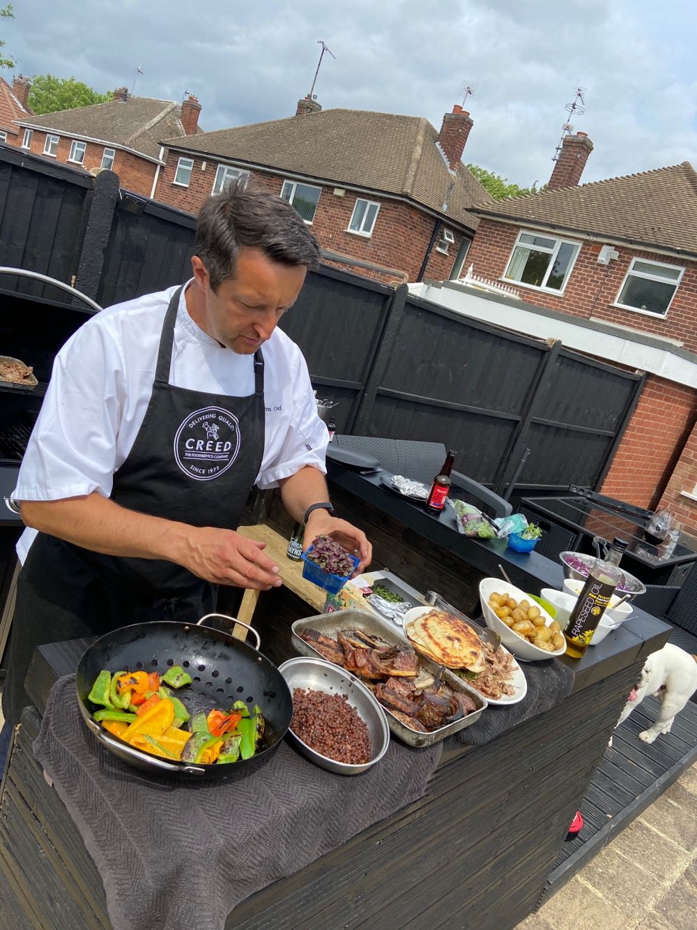 Loughborough College chef joins live line up at virtual food festival