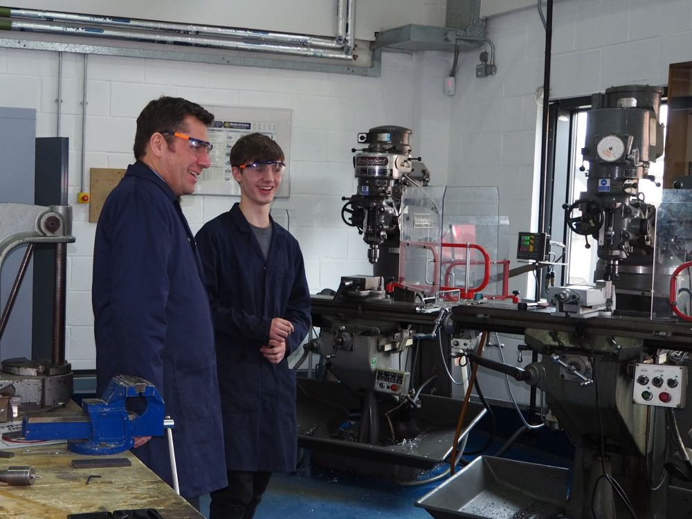 Loughborough College governor turns engineer for National Apprenticeship Week 2018