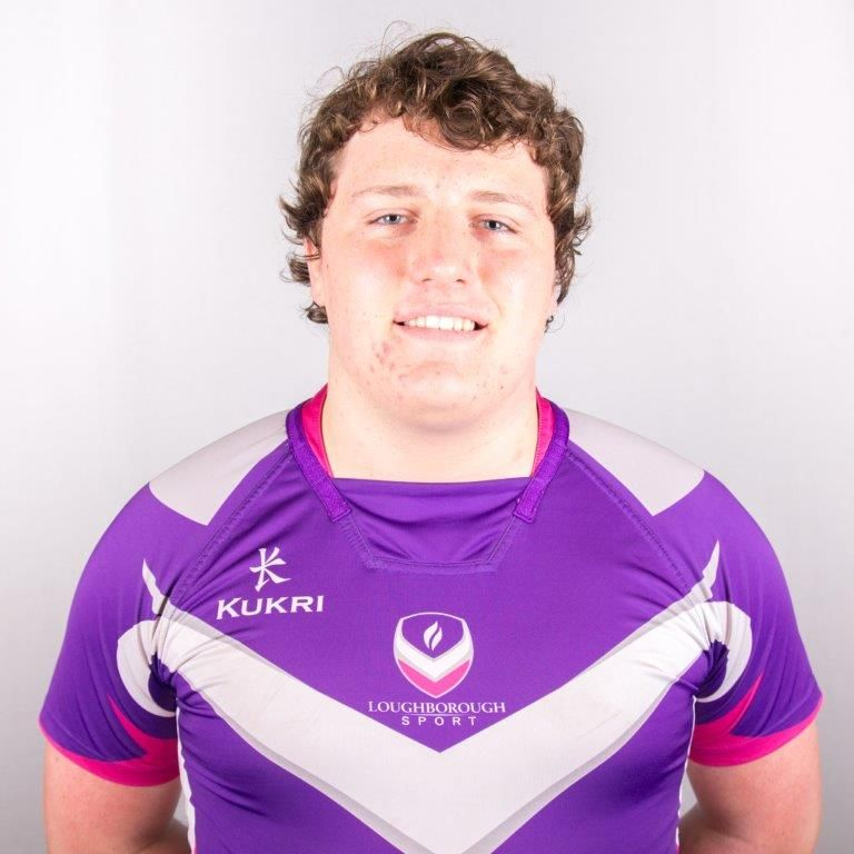 Loughborough College rugby player gets England selection chance