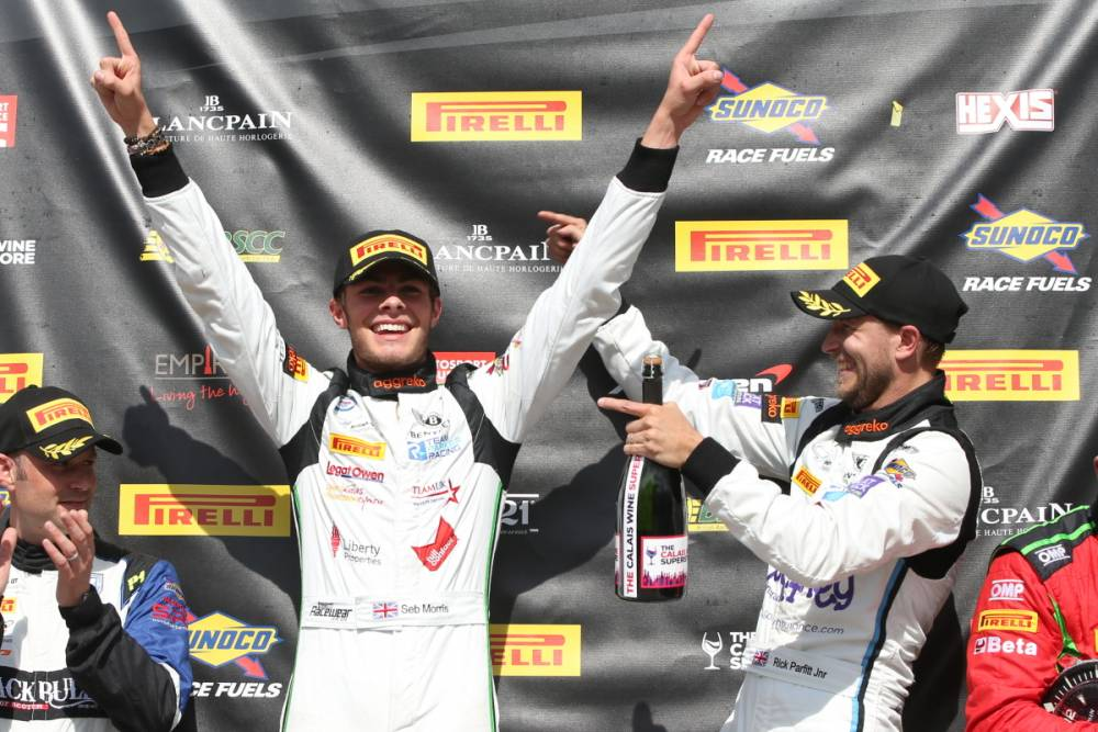 Loughborough College racing driver makes British GT History