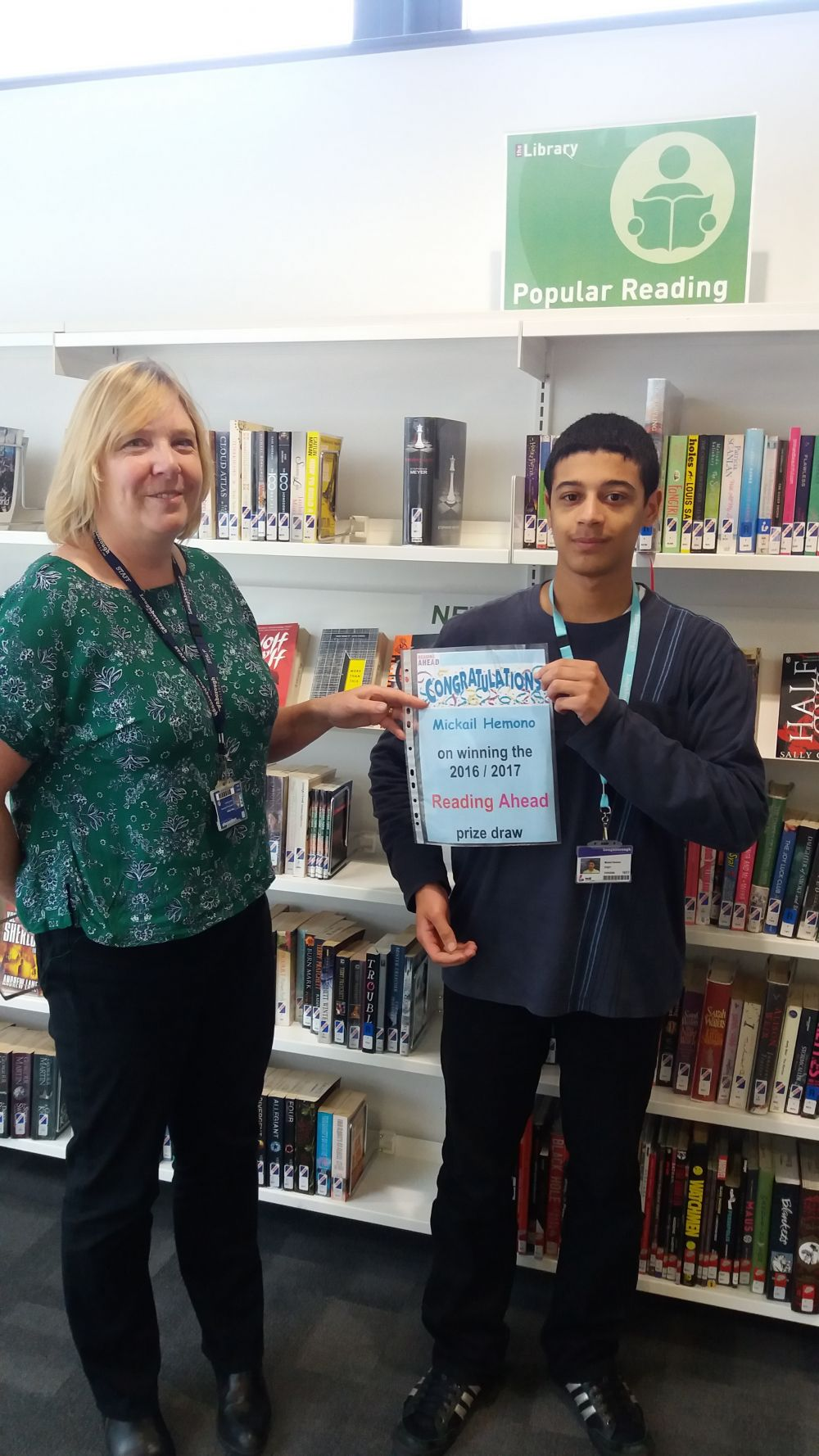 Loughborough College names Reading Ahead prize winners