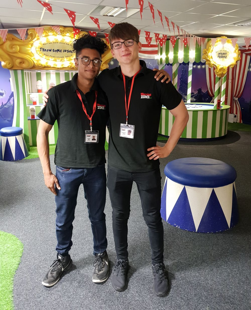 Loughborough College students go above and beyond to help children lead safer lives