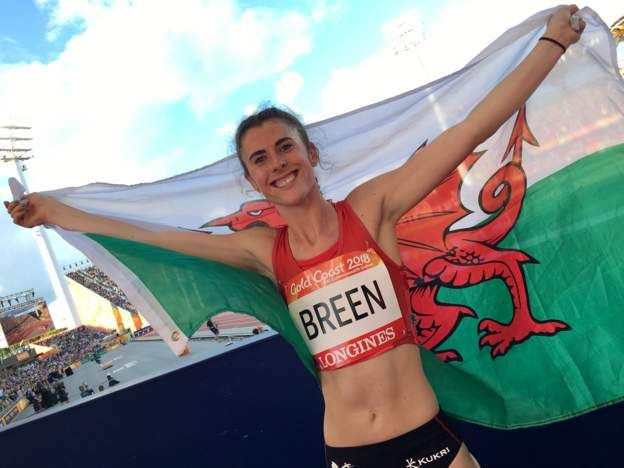 Commonwealth Games 2018: Olivia Breen claims gold