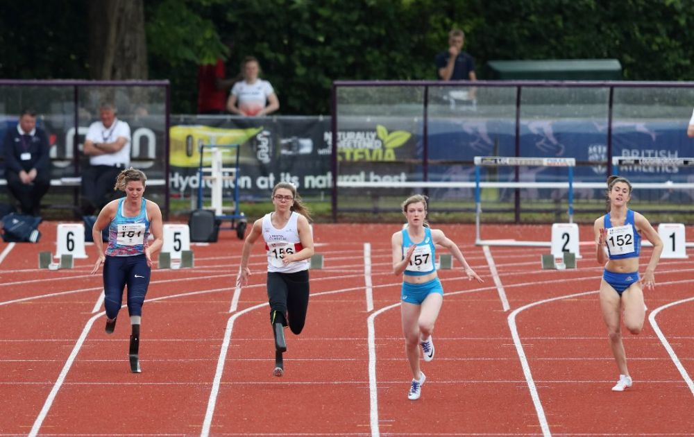 New world record set by Loughborough College athlete Sophie Hahn