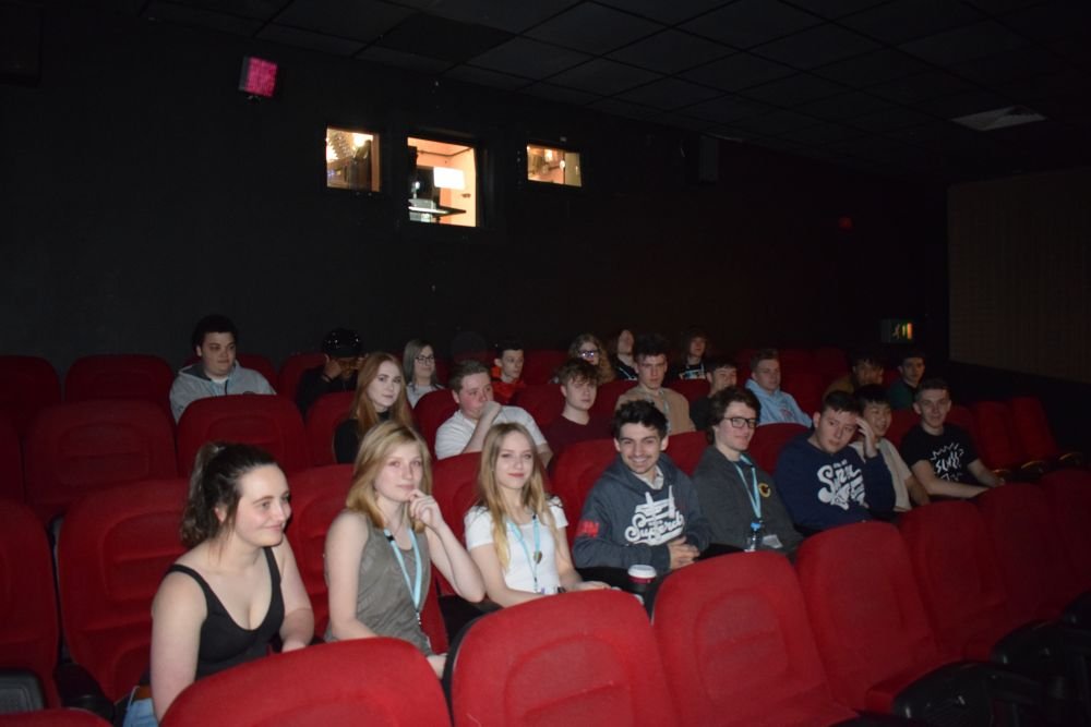 Unique cinema screening for Loughborough College student movies