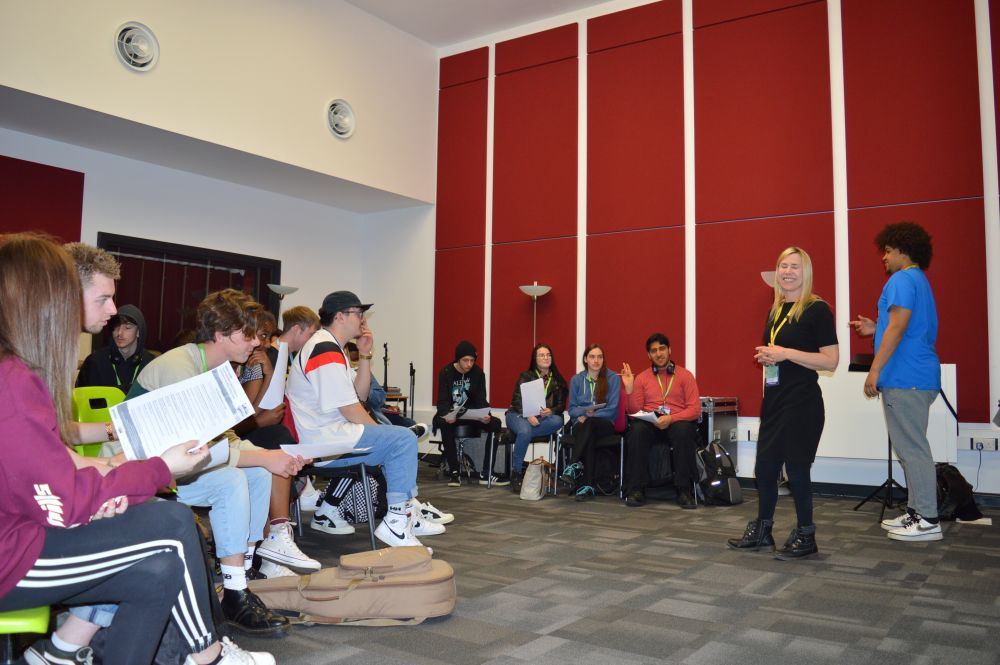 Music industry insight for Loughborough College students