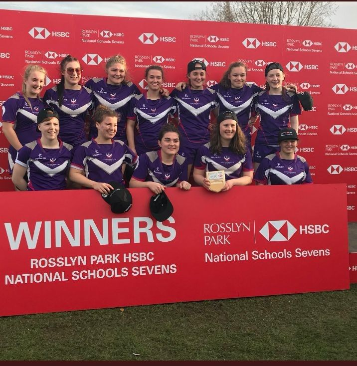 Loughborough College rugby women win 2018 national title