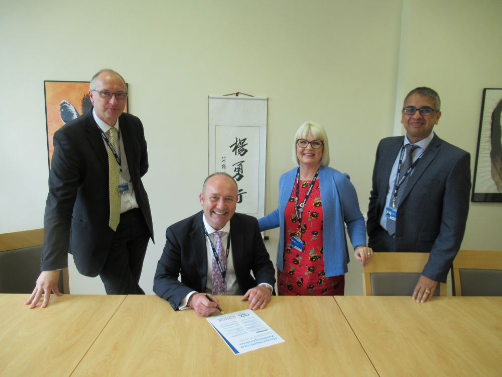 Loughborough College signs brand new national charter – reaffirming its commitment to supporting student and staff mental health and wellbeing