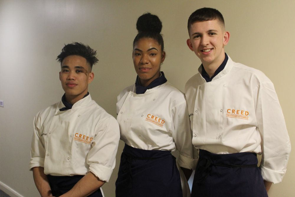Bronze for Loughborough College chefs at top national competition