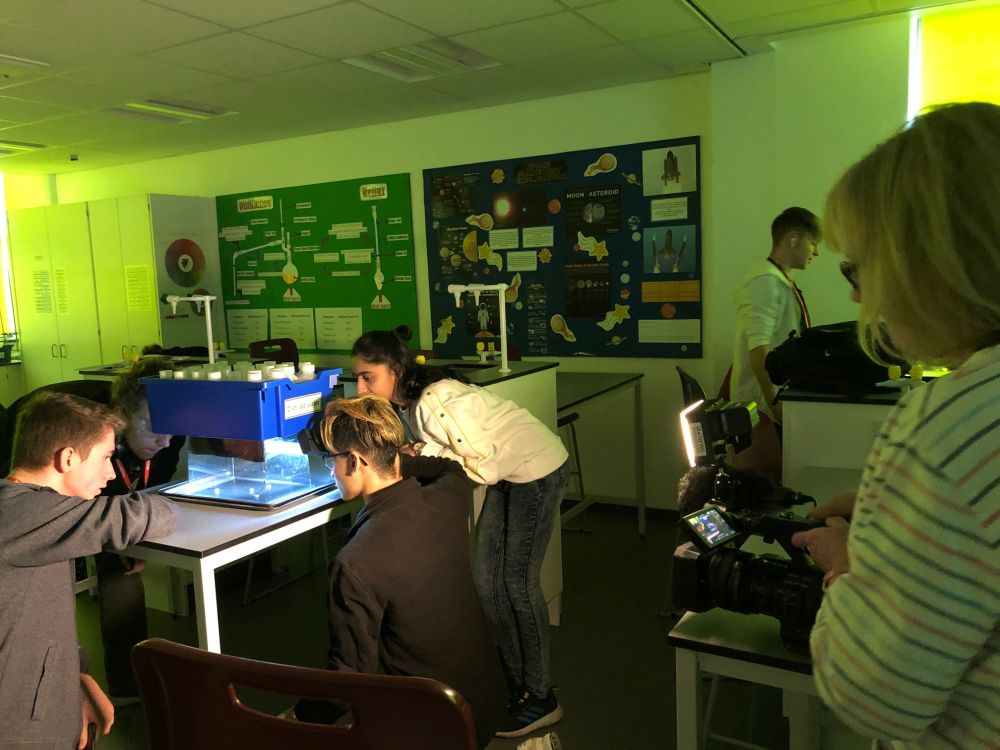 ITV hears from Loughborough College students on pioneering space engineering programme
