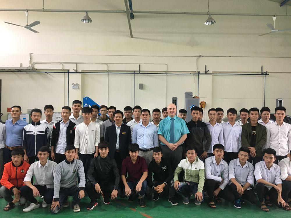 International success builds for Loughborough College in Vietnam