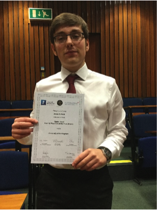 Loughborough College Space Engineer named Physicist of the Year