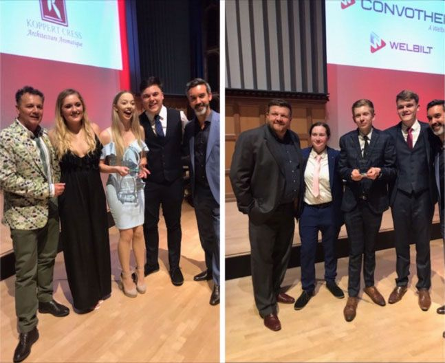 Loughborough College scoops four top prizes at 2019 UK Young Restaurant Team of the Year