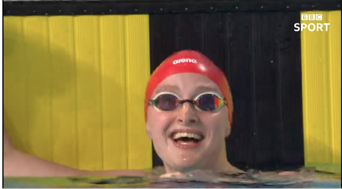 Commonwealth Games 2018: Loughborough College swimmer Sarah Vasey wins gold on debut