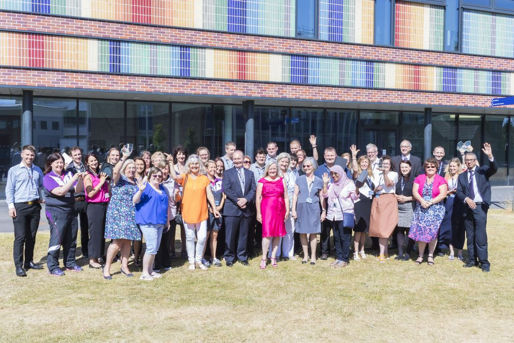 Loughborough College staff honoured at glittering event after record breaking number of votes