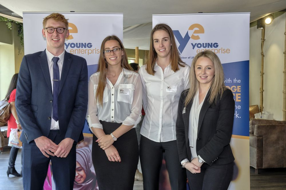 Loughborough College scoops trio of top awards at national enterprise final
